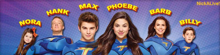 Meet the thundermans characters cast nickelodeon stars nick dot com