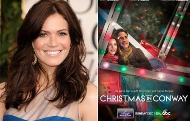 maile graduate mandy moore stars in hallmark christmas movie - Christmas In Conway Hallmark